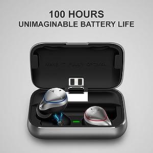 безжични слушалки в ушите безжични слушалки безжични слушалки безжични слушалки дълго време на възпроизвеждане