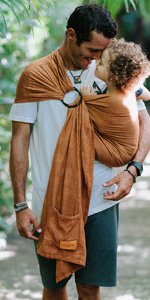 ring sling baby wrap carrier