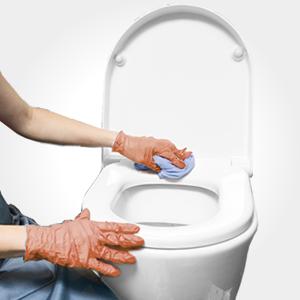 easy clean toilet seat