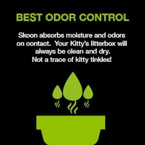 skoon all natural cat litter best odor control