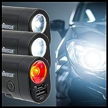 life rescue liferescue crashsafe crash safe led light strobe red flashing beam beacon emergency