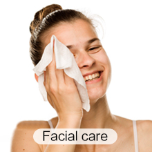 Cotton Dry Wipes Disposable Face Towel Soft Cotton Tissue For Sensitive Skin