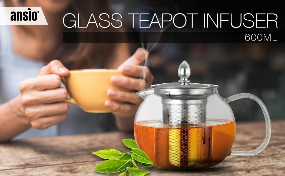 600ML Teapot Infuser