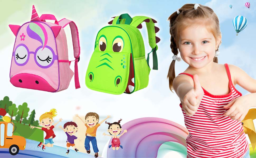 toddler backpack for boys and girls kids preschool bag