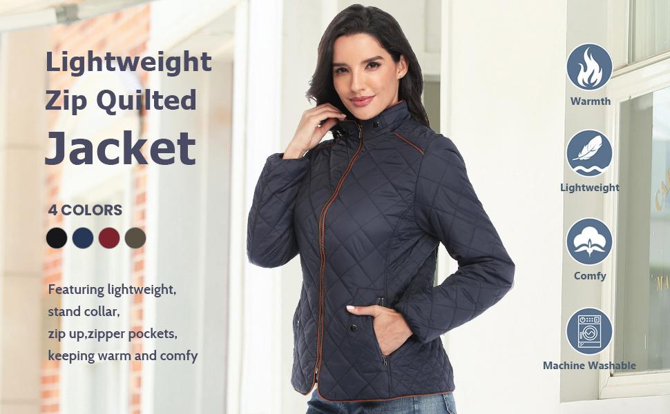 gileted jacket women