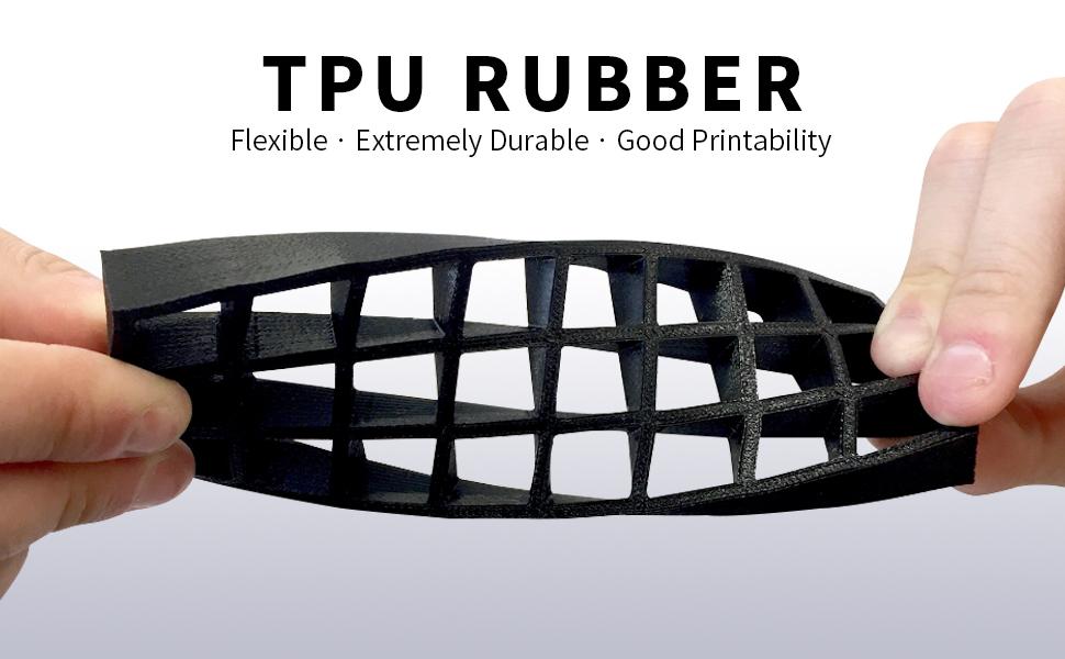 tpu flexible 3d printer filament 1.75mm