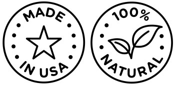 made in usa, 100% natural, food grade product