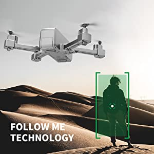 follow me camera drone