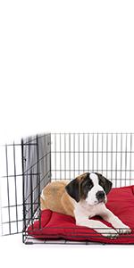 Amazon.com : K9 Ballistics Tough Dog Crate Pad - Washable