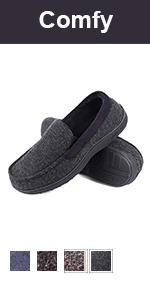 longbay moccasin slipper