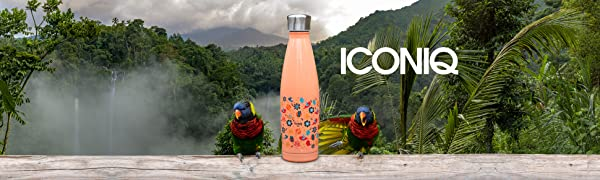 Iconiq: Bottles, Tumblers, Food Container, Drinking Devices.