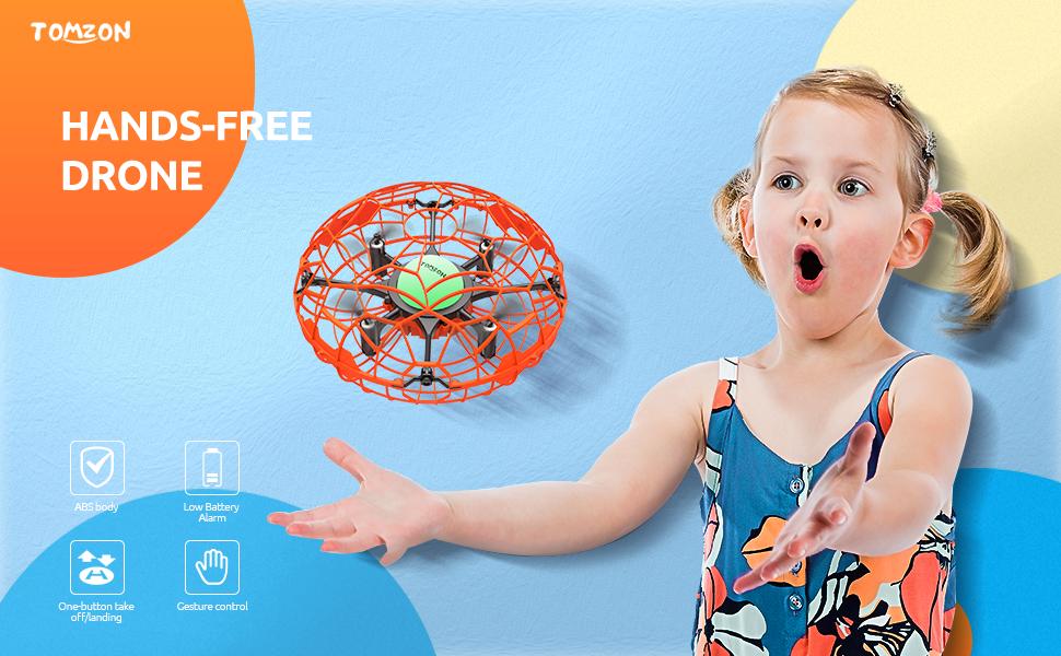 Tomzon Mini Drone para Niños, Quadrocopter Manual, OVNI de ...