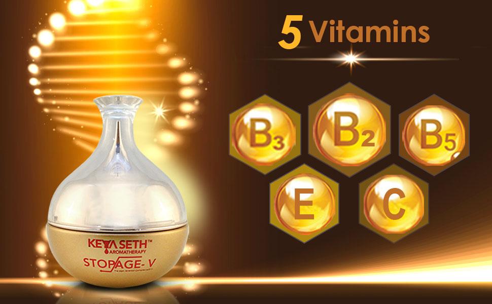 5 vitamins in Stopage V