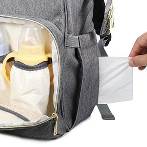 Diaper Bag Backpack Multi-Function Baby Travel Bag with Changing Pad 4