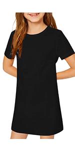 girls long sleeve dress cotton