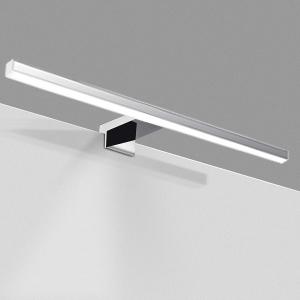 Lampe Miroir Salle de Bain 10W 820LM 40cm 230V 4000K,IP44 Imperméable Miroir Lumineux Lampe 400mm