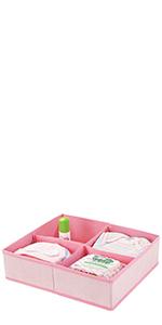 fabric drawer organizer set