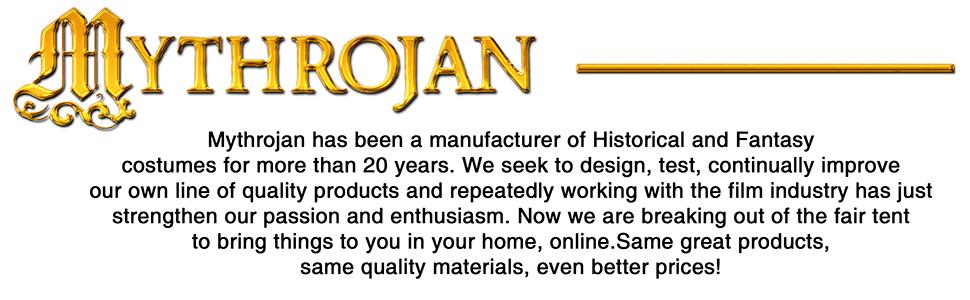 Mythrojan costume historic fantasy movieprops