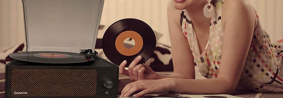 Tocadisco XN091 Lauson Función Grabación Encoding PC-Link ...
