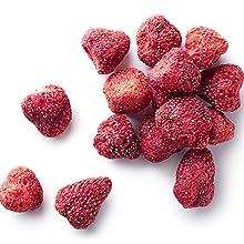 blackberries strawberries raspberry blueberry cherries cranberries fruit pineapple apple powder FIFO