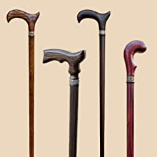 ergonomic derby canes men women