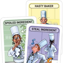 fun family recipe baking cooking popular best board card game teens teenagers kids ages 8 12 gift