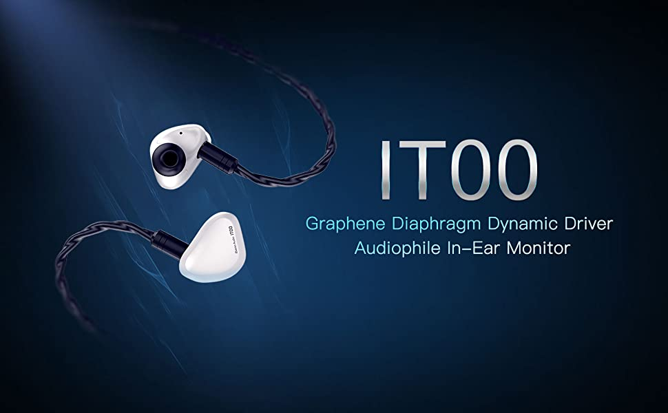iBasso IT00 Graphene Diaphragm Dynamic Driver Audiophile In-Ear Monitor (IEM)