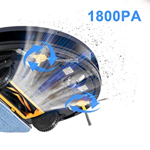 Robot Aspirateur 1800pa