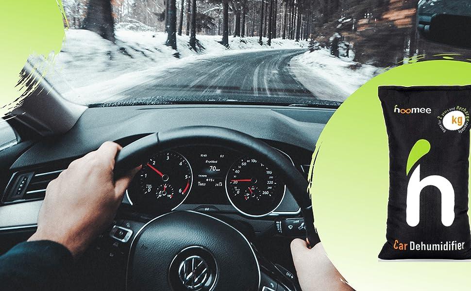 mistige venster auto tas winter dashboard
