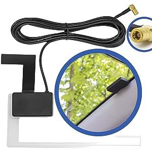Dab Scheiben Antenne Aktiv Radio Adapter Kompatibel Mit Kenwood Sony Pioneer Auto