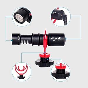 video microphone kit,boya microphone, boya by-mm1, boya by-mm1+,