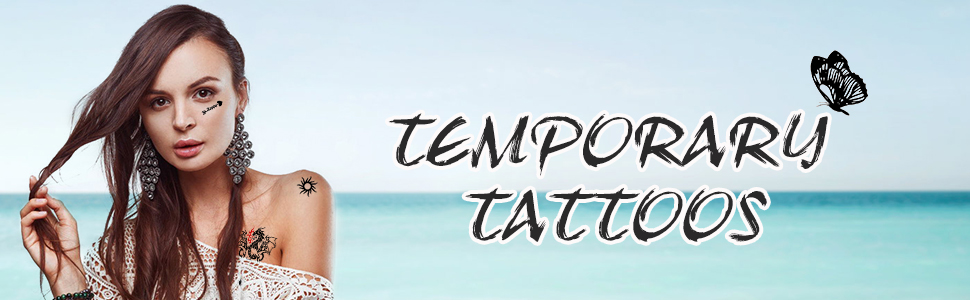 Frcolor 42 Sheets Temporary Tattoos 1