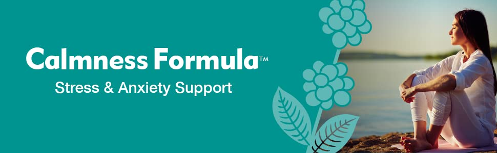 Calmness Formula Stress and Anxiety Support Supplement