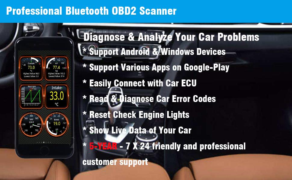 obd2 scanner bluetooth