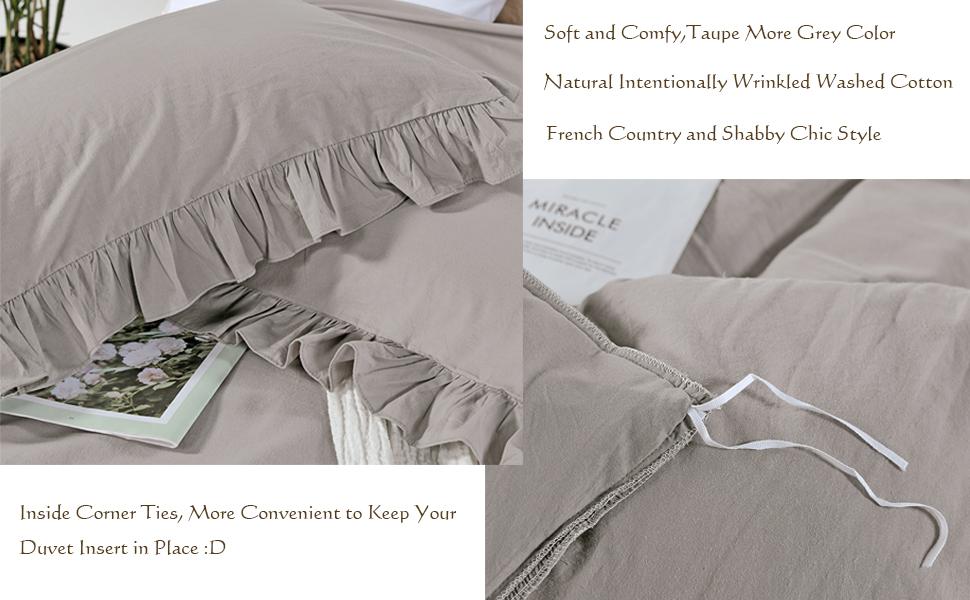 ruffle bedding