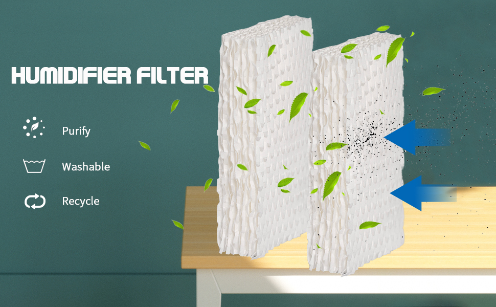 Humidifier Wicking Filters