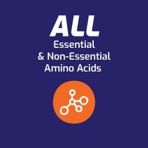 All Essential & Non-Essential Amino Acids