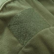 men tactical hiking fleece jacket