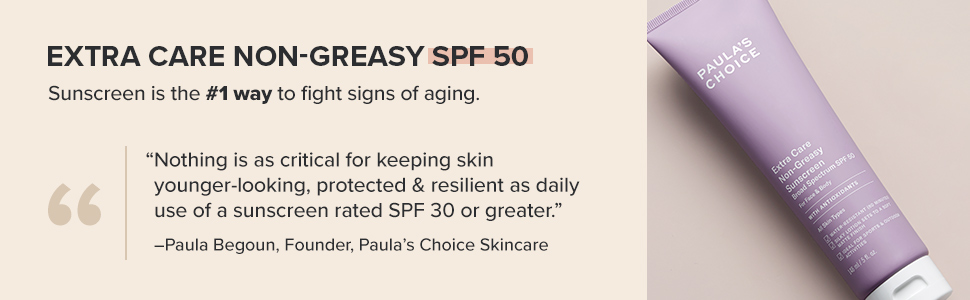 SPF 50 sunscreen for oily and combination skin is a moisturizer that protects skin from sun damage.