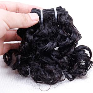human hair bundles with closure