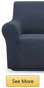 dark grey sofa cover