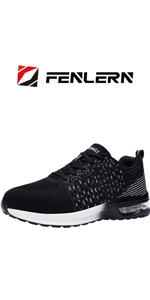steel toe shoes air cushion sneakers