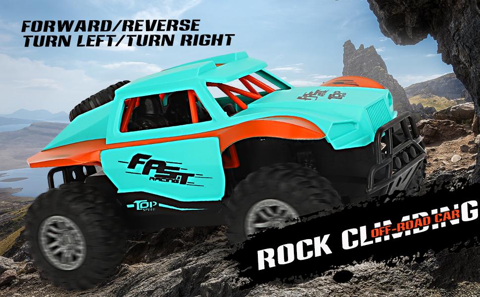 Fast Racing Rock Crawler 4x4 RC Cars