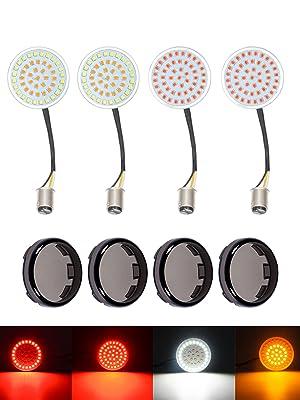 No Smoke Lenses Turn Signals Cikuso Rear Led Turn Signals For 1157