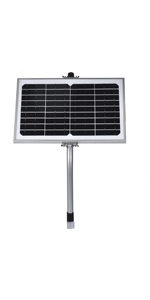 10w solar battery charger with regulator