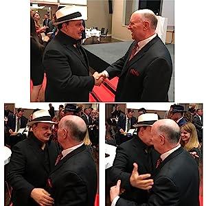Dr. Rod Kurthy and Carlos Fuente Jr Cigar Trophy