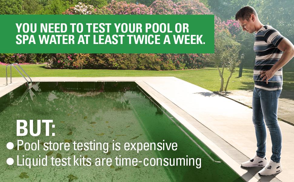 pool test strips 7 way spa test strips ph strips pool testing strips pool water testing strips kit