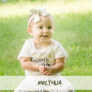 Baby M/ädchen Junge 3Pcs Kleidung SetKurzschluss H/ülsen T-Shirt und Lange Hosen mit Hut Snuggle This Muggle Romper