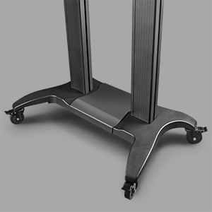 Adjustable width of the cart