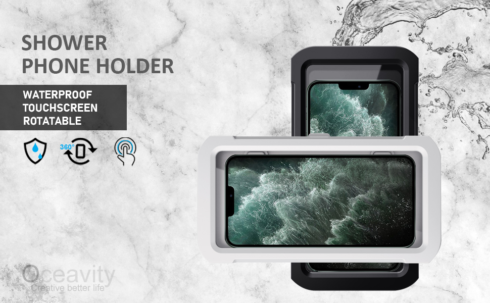 Oceavity Shower phone holder